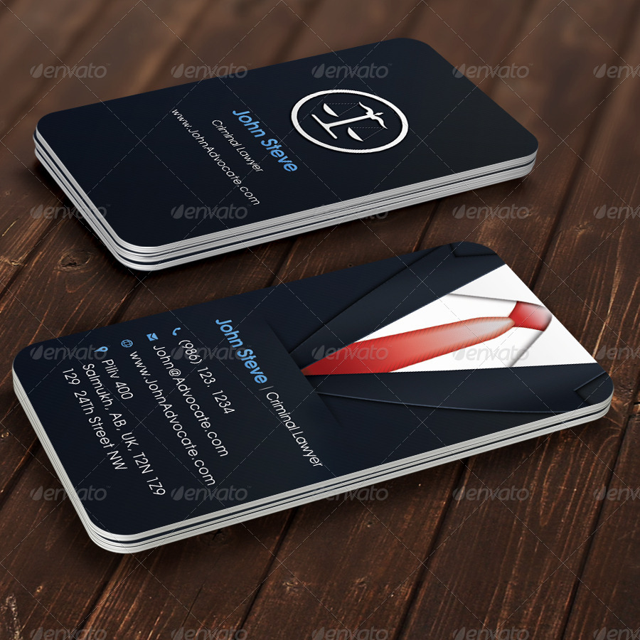 Mockup T Shirt Side Advocate Business Card By Oksrider | Graphicriver