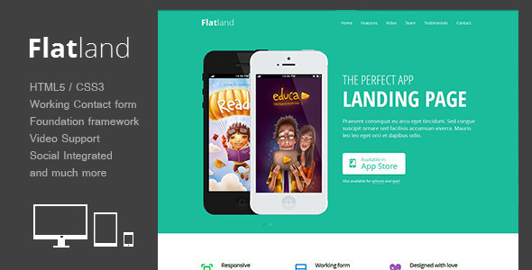 Modern Landing Pages  Templates from ThemeForest
