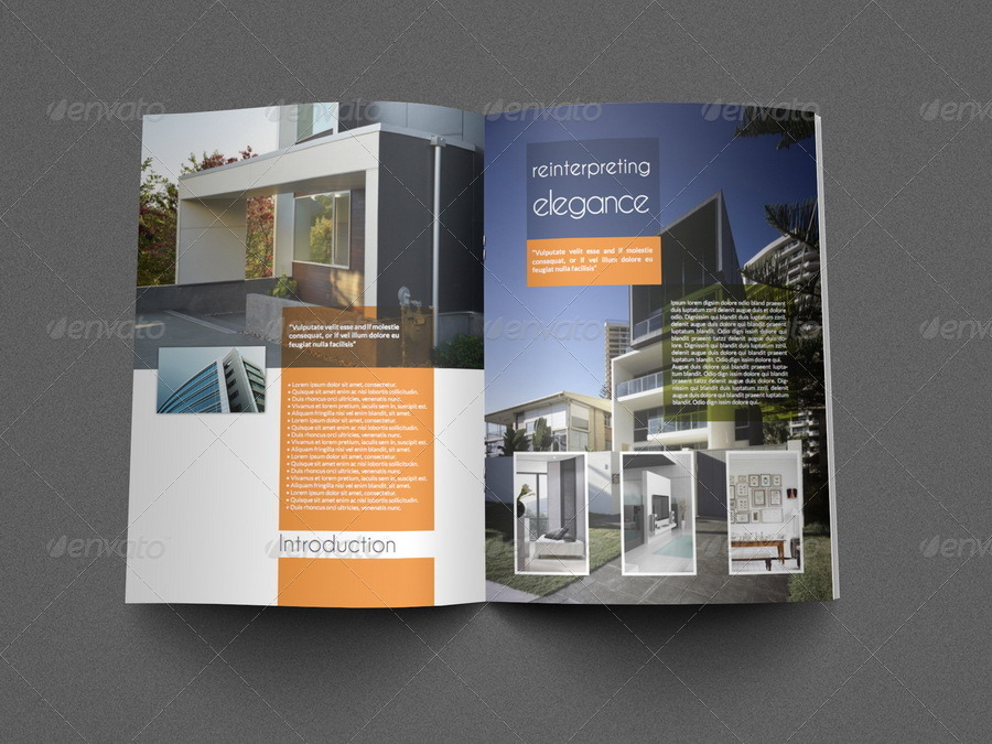 Architectural Brochure Template - 12 Pages by OWPictures GraphicRiver - architecture brochure template