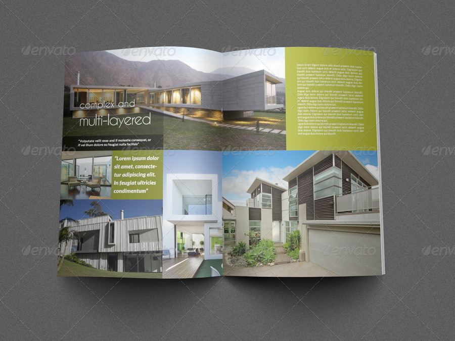 Architectural Brochure Template - 12 Pages by OWPictures - architecture brochure template