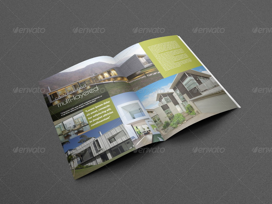 Architectural Brochure Template - 12 Pages by OWPictures GraphicRiver