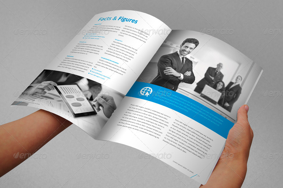 Annual Report Brochure Indesign Template by Braxas GraphicRiver - free annual report templates