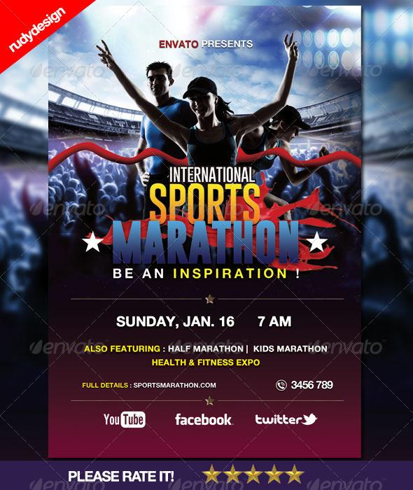 sports poster design templates