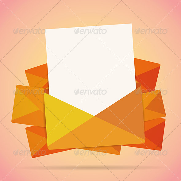 Mail Letter Copyspace Background by hermin_utomo GraphicRiver - mail background