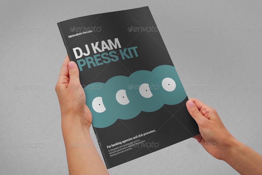 Minimalistix - DJ Press Kit by vinyljunkie GraphicRiver