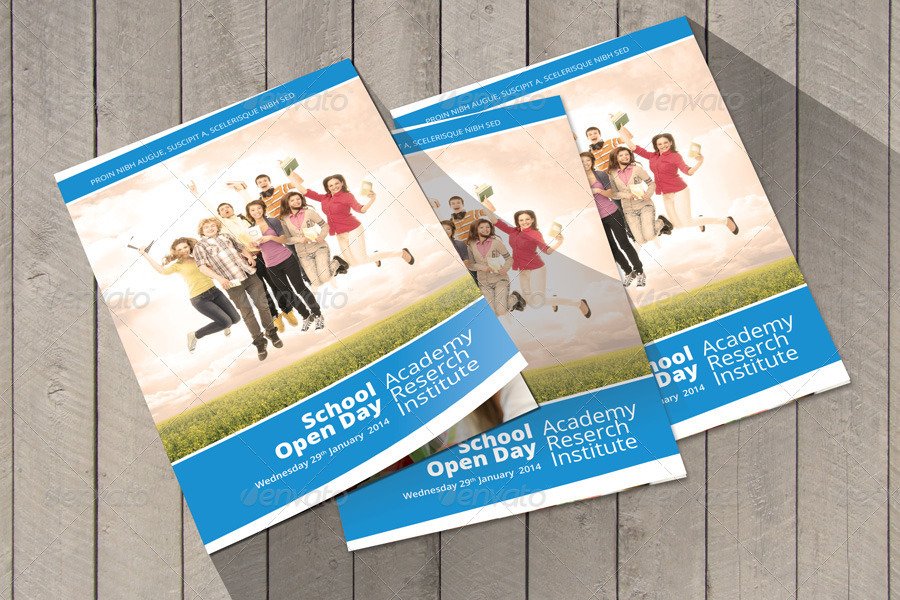 School Welcome Brochure Template by Braxas GraphicRiver
