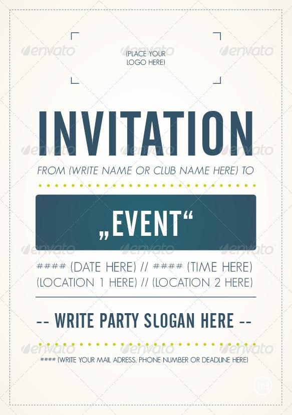 invitation flyer sample - Goalgoodwinmetals - invitation flyer sample