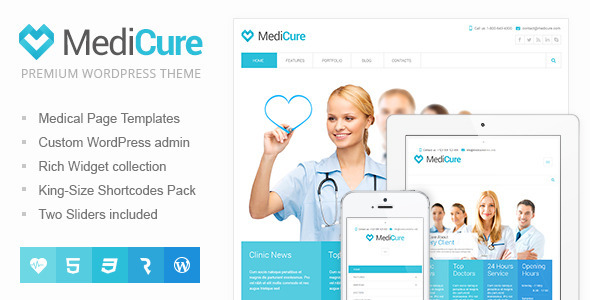 MediCure \u2013 Health  Medical Wordpress Theme by cmsmasters ThemeForest