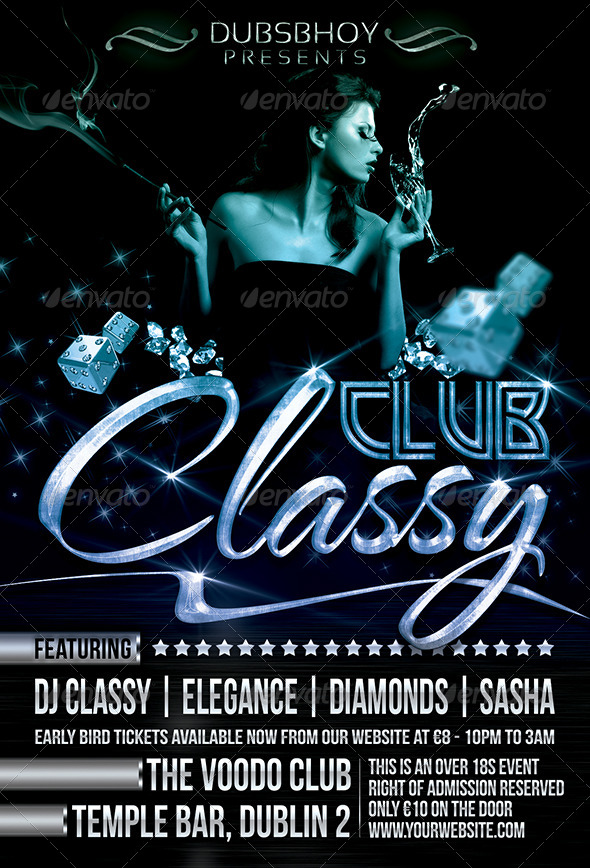 Classy Club Flyer by dubsbhoy GraphicRiver