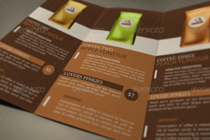 Coffee Shop Brochure Template - Resume Template Sample