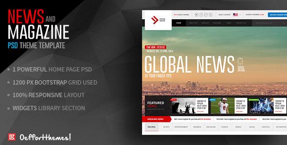 website newspaper template - Josemulinohouse - online newspaper template
