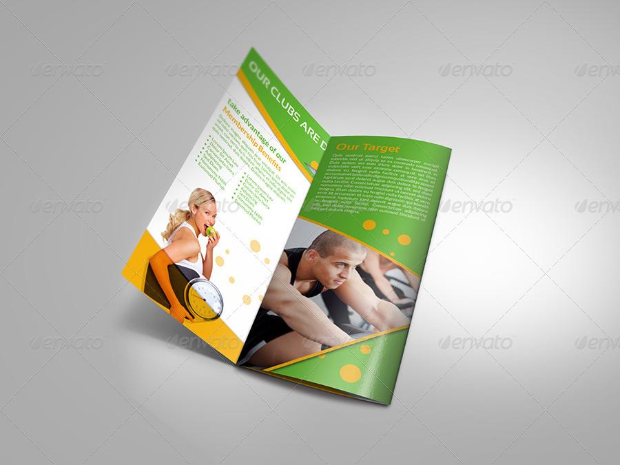 gym brochure - Pinarkubkireklamowe