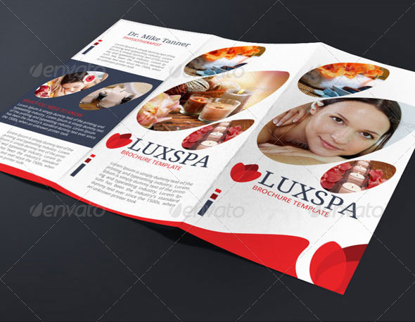 Medical Spa Brochure Template by BloganKids GraphicRiver - spa brochure