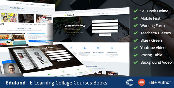 Eduland - Collage Career HTML Landing Page by CoralixThemes