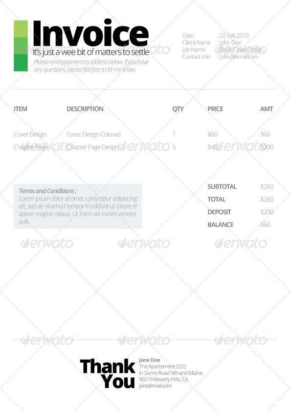 Ultra Minimalist Quotation Template by priabudiman GraphicRiver - quotation design template