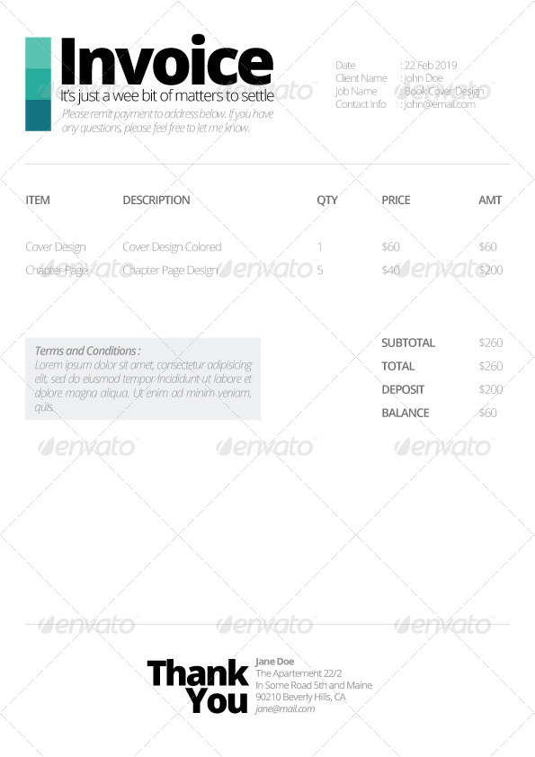 Ultra Minimalist Quotation Template by priabudiman GraphicRiver - quotation template