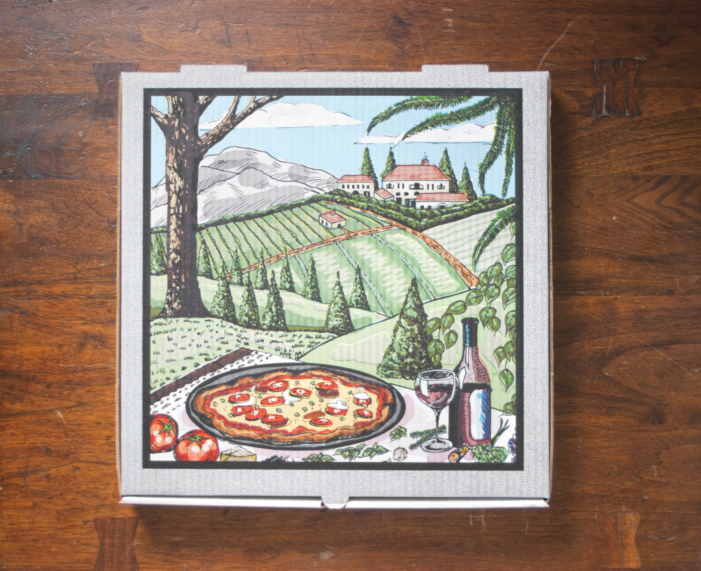 The Art Of The Pizza Box Design Week