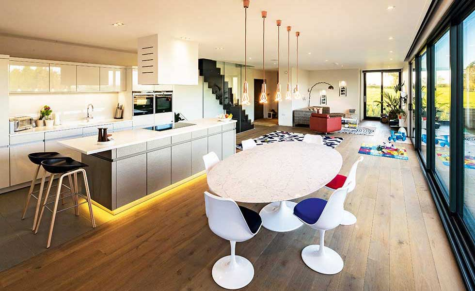 Height Of Lights Above Kitchen Island 15 Of The Best Open Plan Kitchens | Homebuilding & Renovating