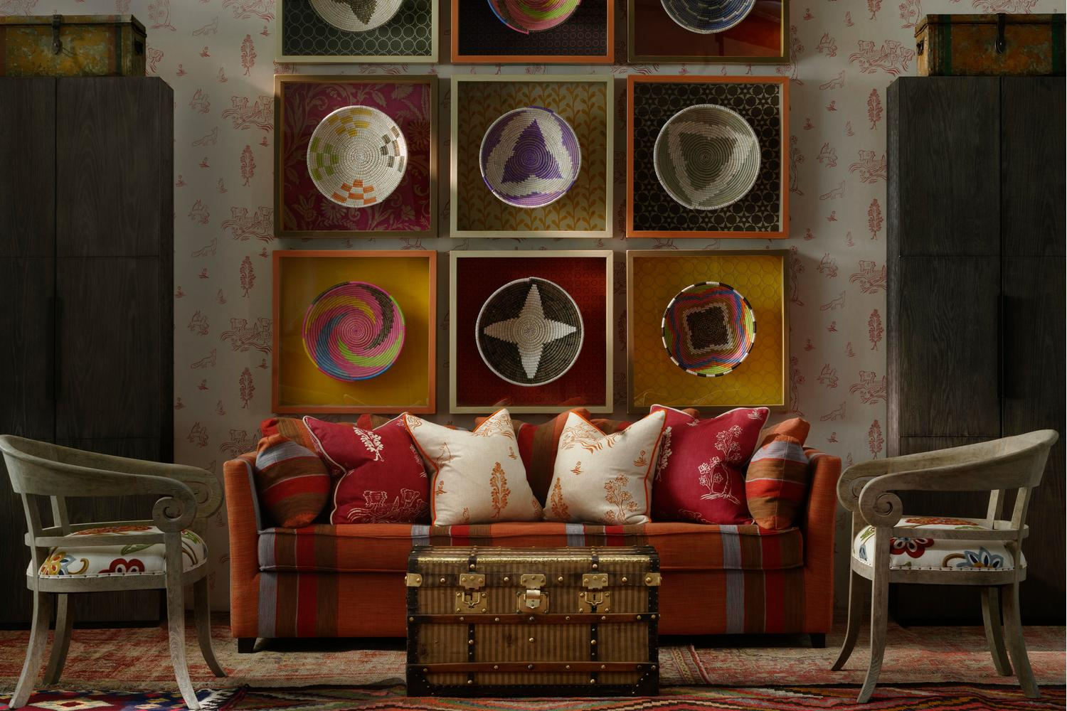 Interieur Wallpaper Kit Kemp Collection Andrew Martin