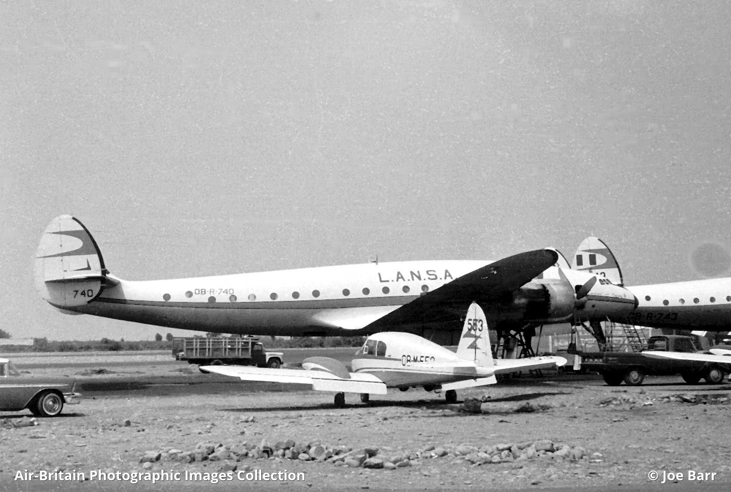La Nsa Aviation Photographs Of Operator L A N S A Abpic