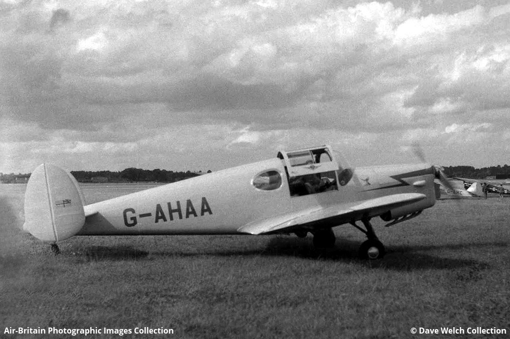 Aviation photographs of Registration G-AHAA  ABPic