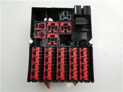 Ford Transit Connect 2009 To 2013 Fuse Box (Diesel / Manual) for