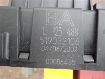 VAUXHALL VECTRA C REC REAR ELECTRICAL CONTROL MODULE FUSE BOX IDENT
