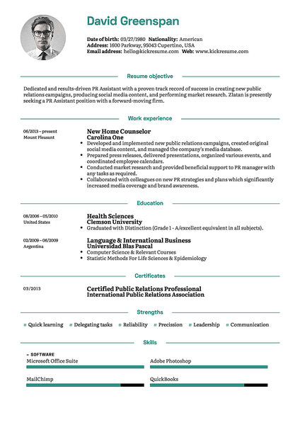 google resume builder templates