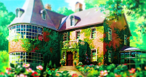 Big Size Wallpapers With Quotes Anime Beautiful Ghibli Green House Image 331221 On