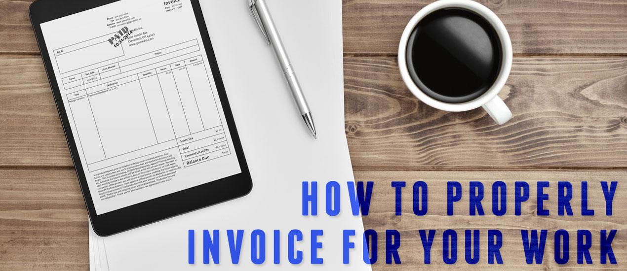 Invoicing Clients Graphic Design - graphic design invoices