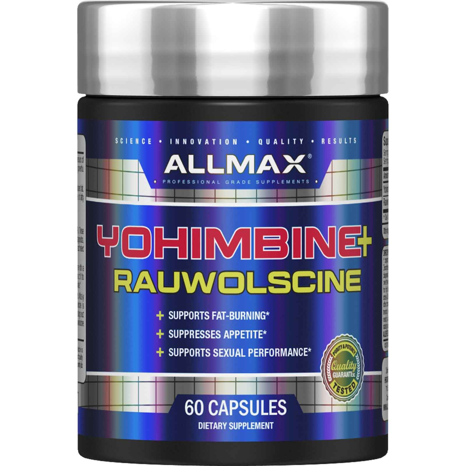 Yohimbine Hcl Kaufen Details About Allmax Nutrition Yohimbine Hcl Rauwolscine 3 Mg 60 Capsules