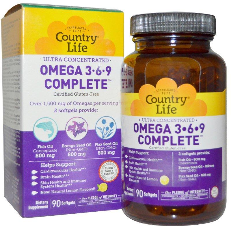 Large Of Omega 3 6 9