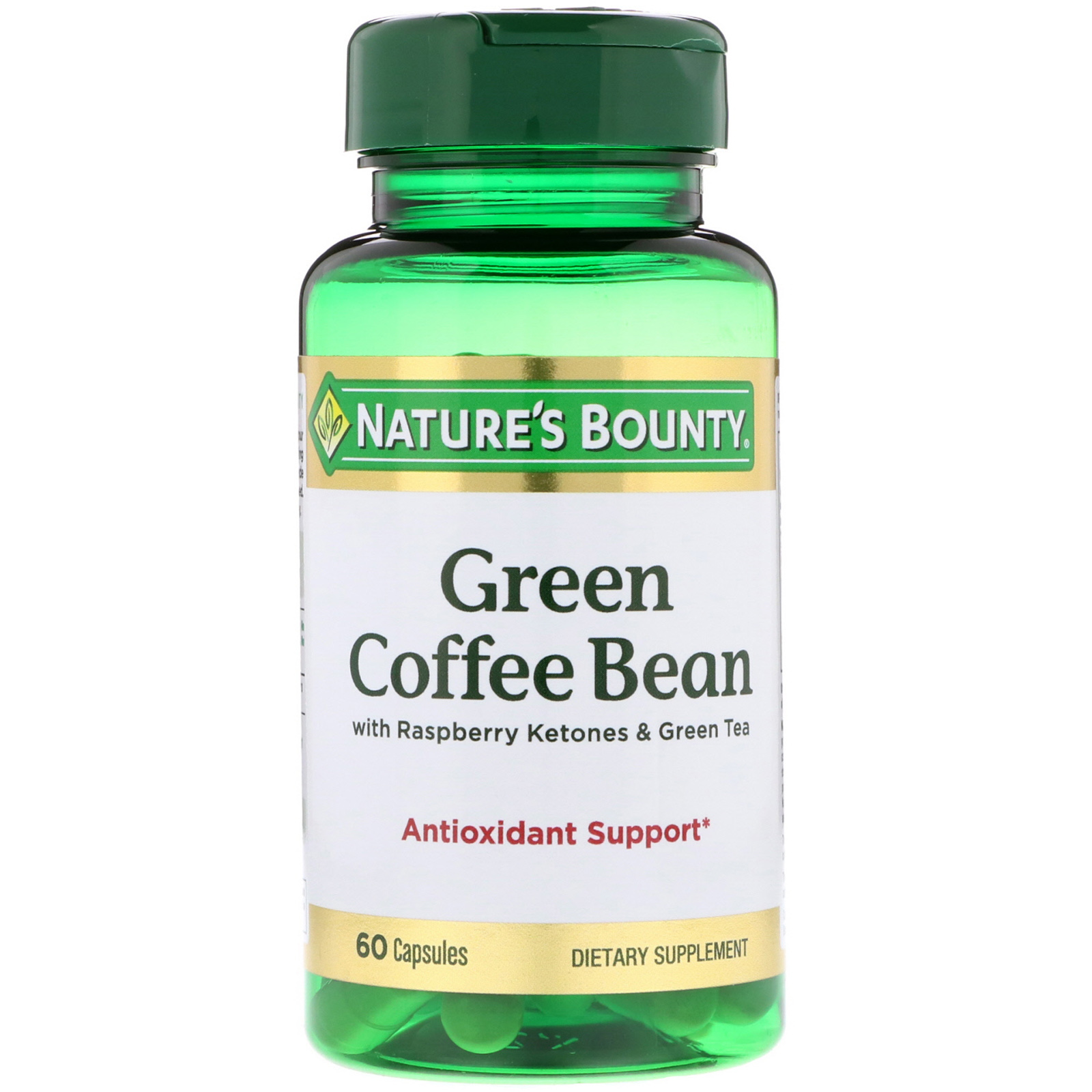 Grüner Coffee Green Coffee Nature 39s Bounty Grüne Kaffeebohne 400mg Mit Himbeer