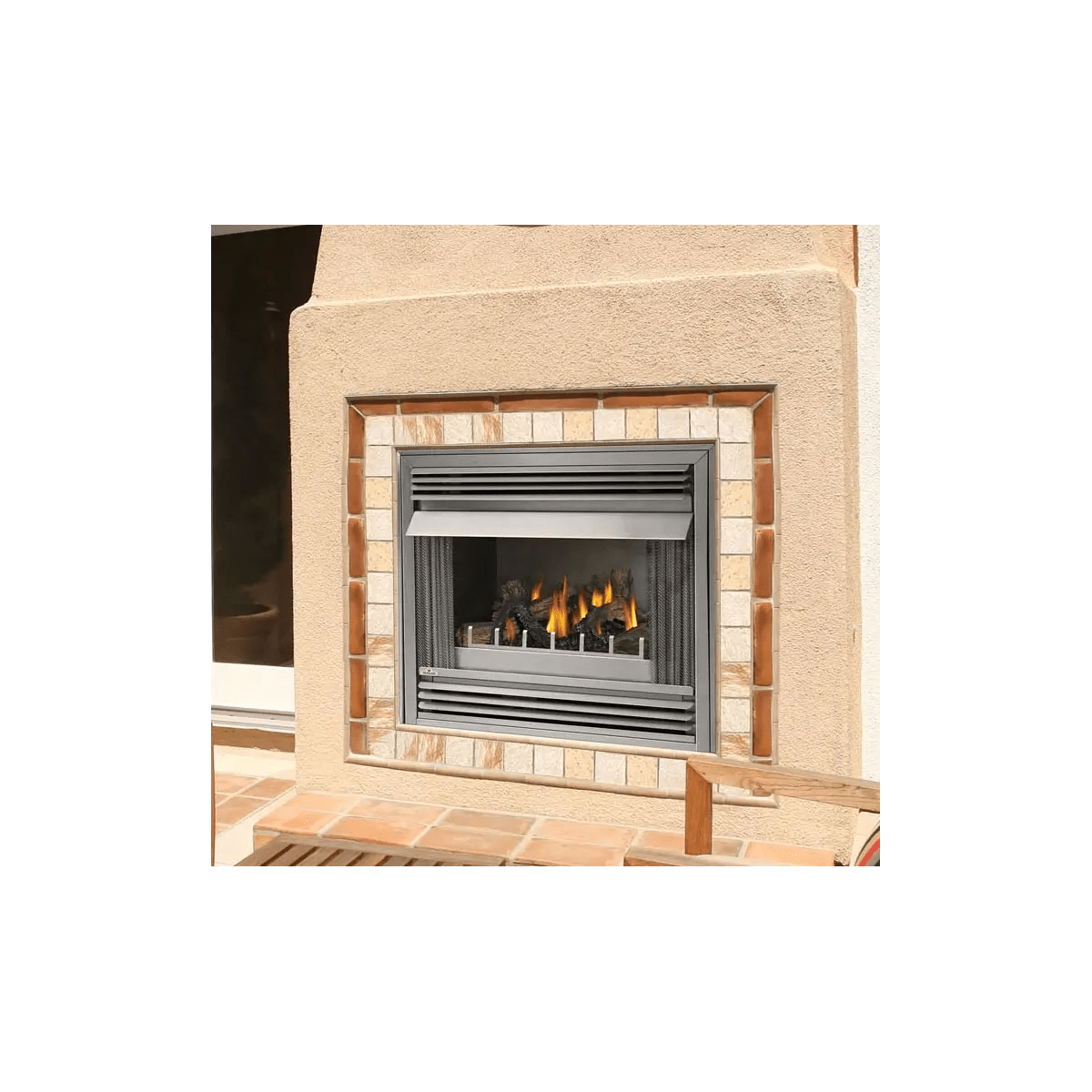 Btu Gas Fireplace Napoleon Gss36n
