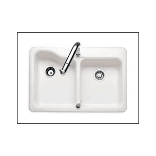 American Standard 7163202345 Bisque Double Basin