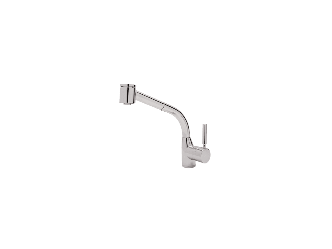 f rohl kitchen faucet Rohl RAPC Polished Chrome Lux Single Kitchen Faucet with Pull Out Spray and Metal Lever Handle Faucet com