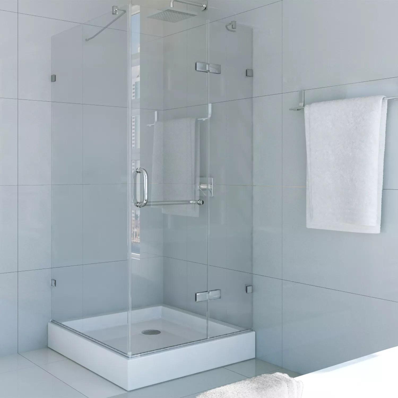 Fullsize Of Frameless Pivot Shower Door