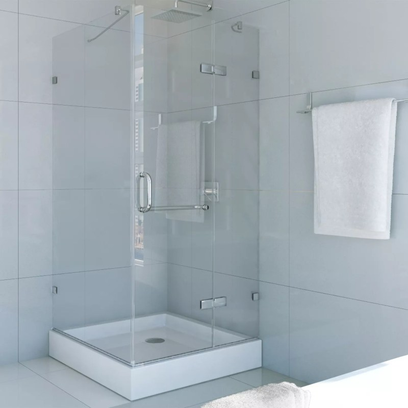 Large Of Frameless Pivot Shower Door