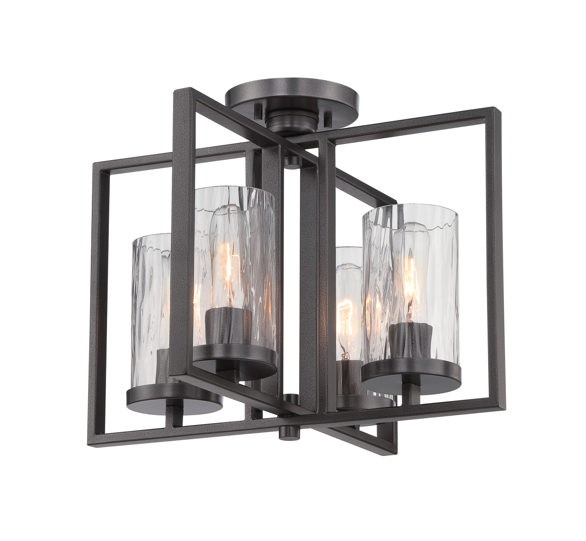Designers Fountain Lighting Details About Designers Fountain 86511 Cha Elements 4 Light Semi Flush Ceiling Fixture