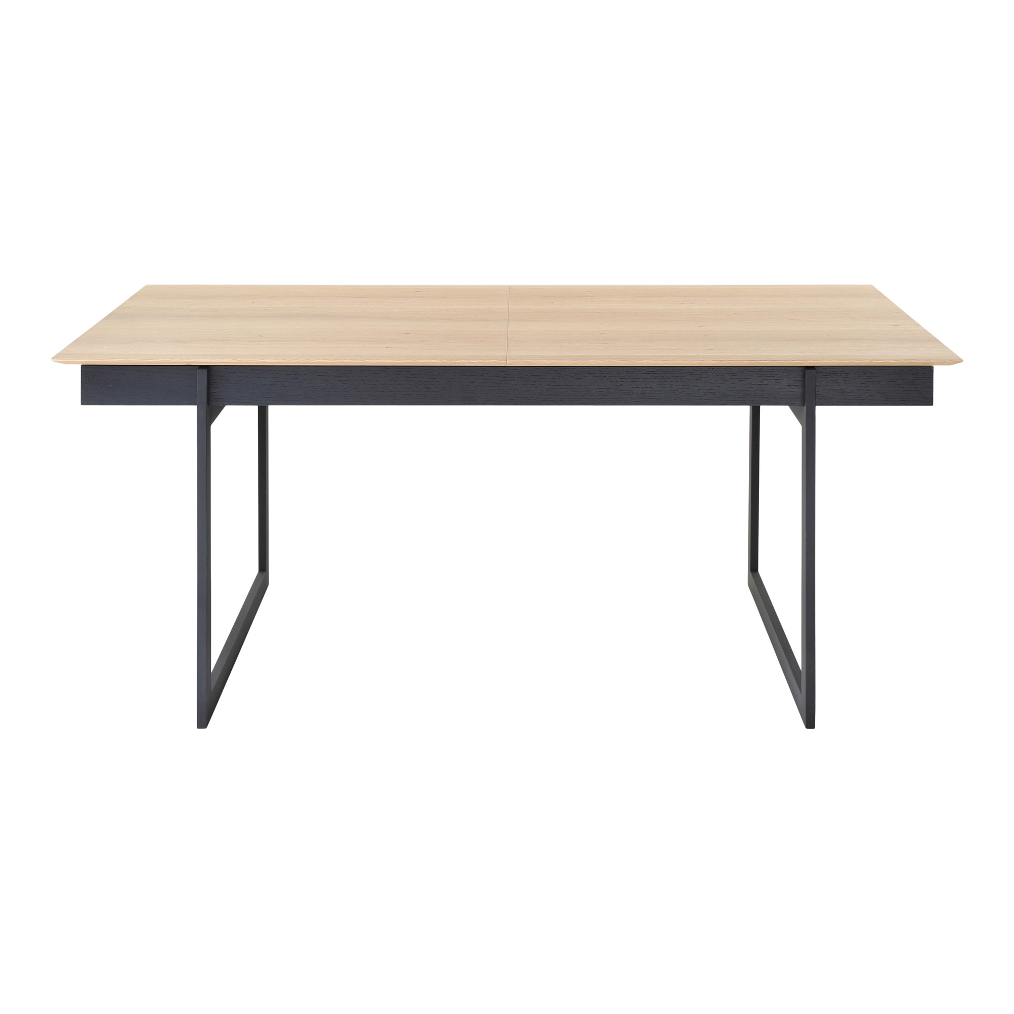 Long Wood Desk Details About Moes Home Collection Ou 1005 Damon 71
