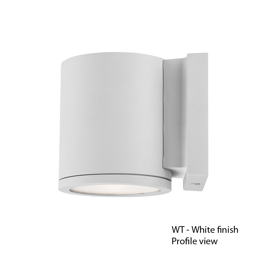 Exterior Led Tube Lights Details About Wac Lighting Ws W2605 Wt Tube Led 1 Light Outdoor Led Wall Sconce White