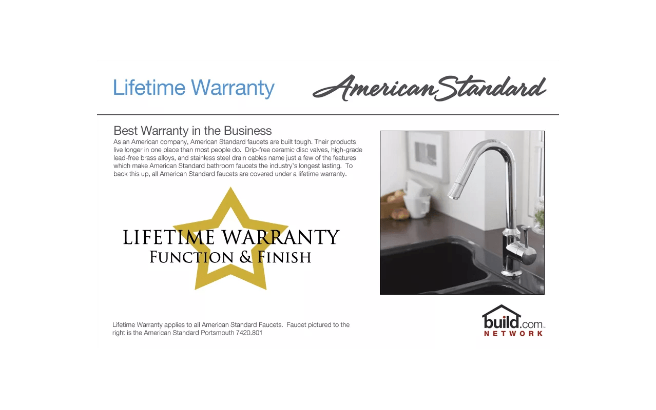 f american standard faucets kitchen Take On Summer Sale