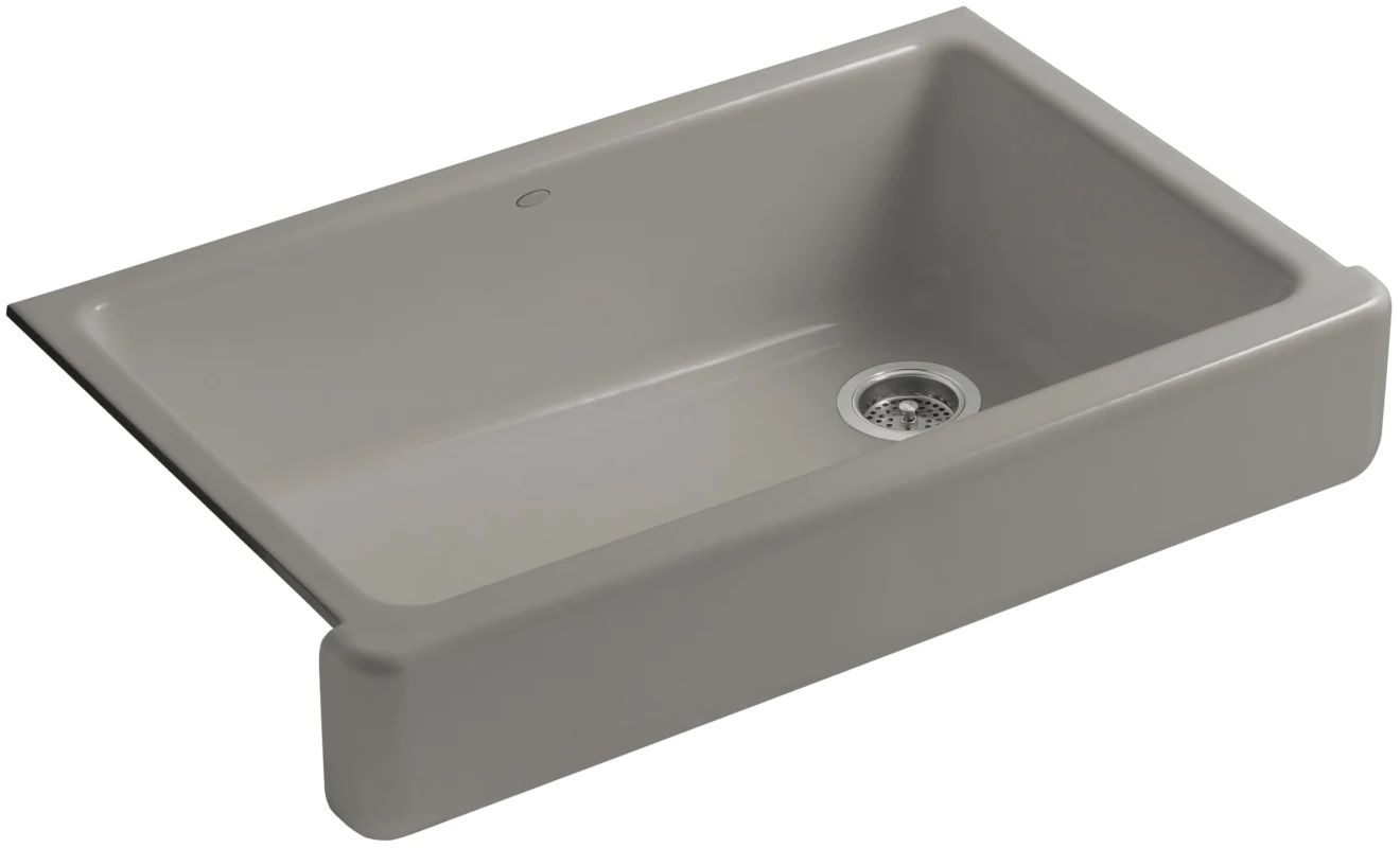 Kohler Whitehaven Farmhouse Sink Accessories Kohler K 6488 K4 Cashmere Whitehaven 36 Quot Single Basin