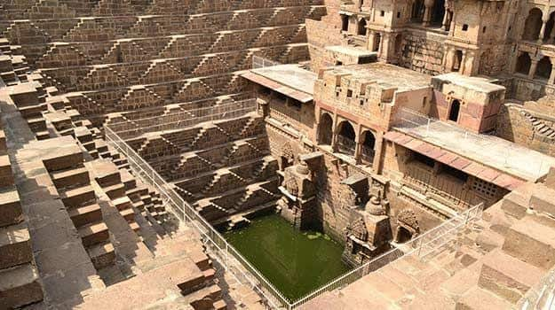 Alwar Girl Wallpaper Chand Baori Step In To This Timeless Perfectly