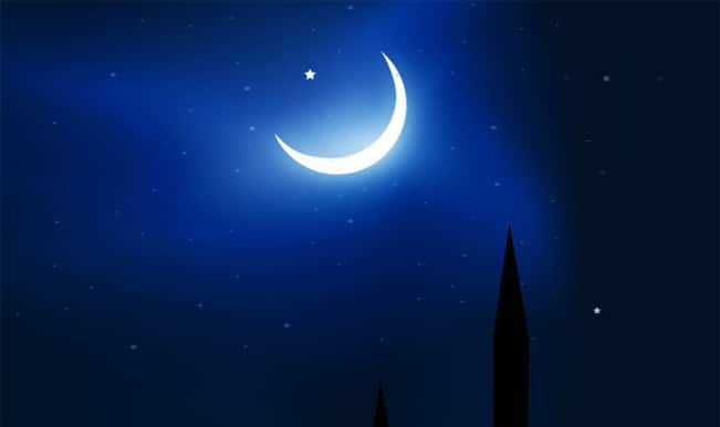 Evening Wallpaper With Quotes Chand Mubarak The Eve Of Muslim Festival Of Eid Ul Fitr