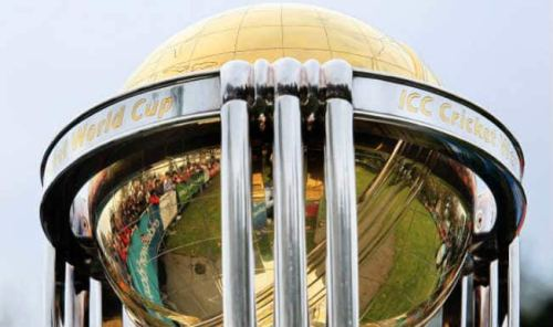 ICC Cricket World Cup 2015 trophy tours UAE