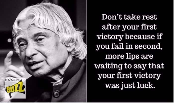 Dr Abdul Kalam Quotes Wallpapers Dr Apj Abdul Kalam S 2nd Death Anniversary Wise Quotes By