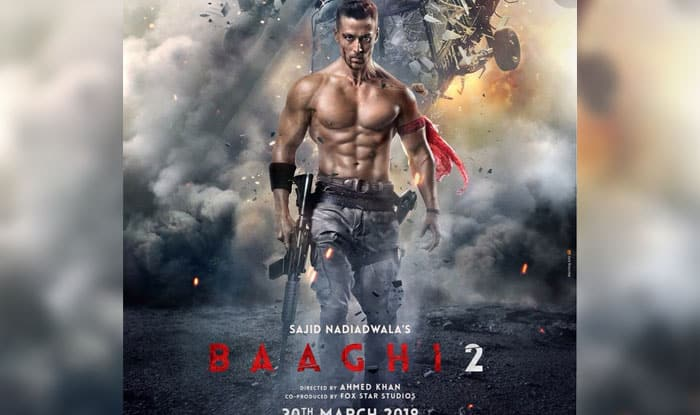 Tiger Shroff Hd Wallpaper Baaghi 2 First Look Poster Tiger Shroff Is Back In Full