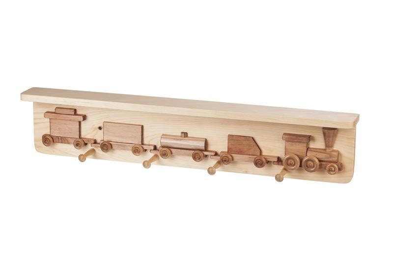 Train Shelf With Coat Rack From Eco Friendly Digs