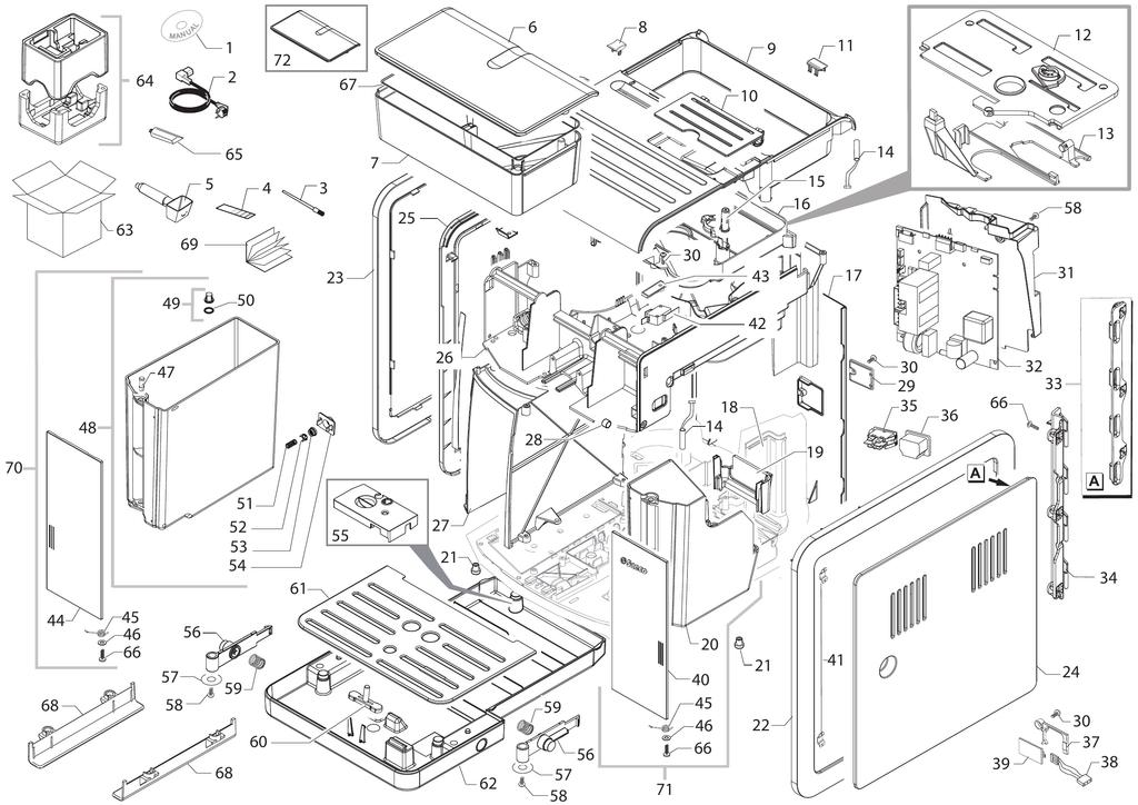 philips 21pt3324 71 schematic diagram